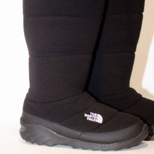 North Face Heatseeker Fleece Boots  Black Size 11